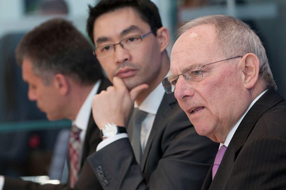 Rösler blockiert Emissionshandel, also kürzt Schäuble die Entwicklungshilfe